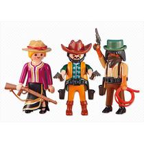 Playmobil Western Trio De Cowboys 6272