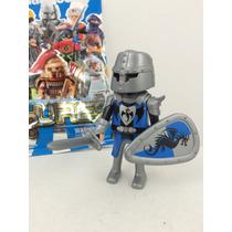 Playmobil Figures Série 5 - Cavaleiro Do Dragão Azul