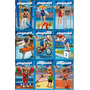 Playmobil Serie Olimpíadas Com 09 Caixas