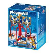 Playmobil 4888 Carrossel De Natal