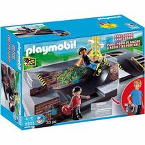 Playmobil Maleta Set Esportes Radicais Pista Skate Cod: 5933