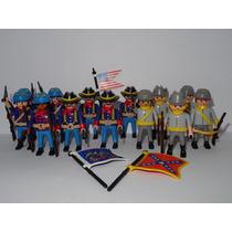 Playmobil Guerraamericana Soldado Confederado Monte Suatropa