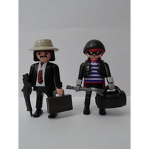 Playmobil City Action Police - Bank Robber Ladrões De Banco