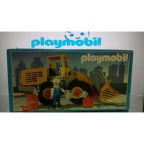 Playmobil Trator Escavadeira Para Construção