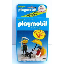 Playmobil Geobra Sheaper - Casal Velho Oeste , 2950 - Caixa!