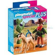 Playmobil 5373 Western Cowboy Special Plus - Lacrado!