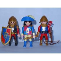 Playmobil Medieval Lowenritter Trio Principe & Soldados