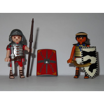 Playmobil Roma X Egito = Soldado Romano X Soldado Egípcio