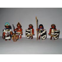 Playmobil Egito Set 5 Tropa = Soldados Guerreiros + Faraó