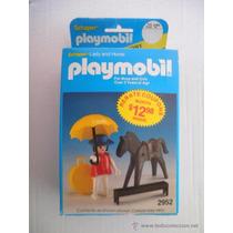 Playmobil Geobra Sheaper - Dama Velho Oeste , 2952 - Caixa!