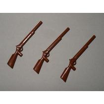 Playmobil Armas P Wester Piratas Soldados ... 3 Espingardas