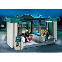 Playmobil Banco Com Sistema De Segurança 5177 - Sunny