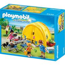 Playmobil 5435 Camping Com A Família
