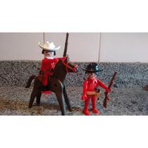 Playmobil Western Cowboys 2 Bonecos Vários Acessórios Lot 07