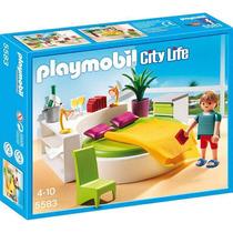 Playmobil 5583 Quarto Da Casa City Life (lançamento)