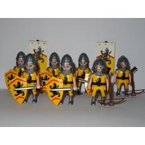 Playmobil Medieval Lion Cd Um Guerreiro Monte Sua Tropa