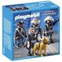 Playmobil City Action - Polícia Equipe Tática - 5565