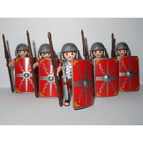 Playmobil Roma Cd 1 Soldado Romano Legionário Monte Sua Trop