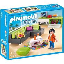 Playmobil 5584 Sala De Estar City Life (lançamento)