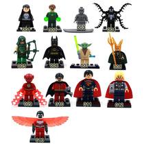 Lego Bonecos Compativel Playmobil Herois Marvel Dc Comics
