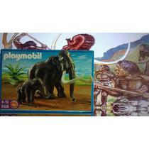 Playmobil Pré Historia Com Mamute