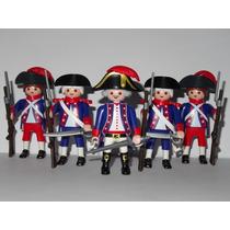 Playmobil Medieval Piratas Set 5 Soldados Franceses Nb Nazv