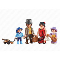 Playmobil Add On 6323 Família Do Velho Oeste