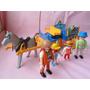 Jogo Playmobil Carreta Fazendeiro Higienizado Conforme Foto