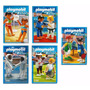 Playmobil Serie Olimpíadas Com 05 Caixas