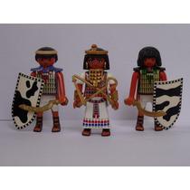 Playmobil Egito Trio Cleópatra & Soldados Monte Sua Tropa
