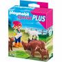 Playmobil Special Plus 4785 - Cuidadora De Animais