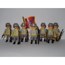 Playmobil Wester Confederado Cd 1 Monte Sua Tropa