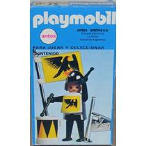 Playmobil Antigo - Raro - Soldado Medieval - 3332- Caixa!