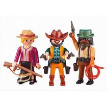 6278 Playmobil Velho Oeste 3x Cowboys Add-on