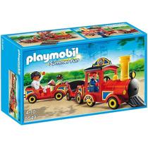5549 Playmobil Parque De Diversões /circo Trenzinho Infan...