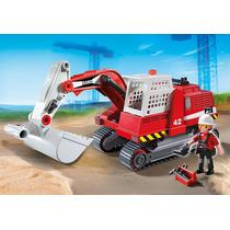Playmobil Escavadeira De Construção 5282
