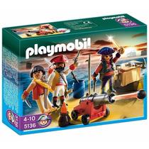Playmobil Tripulação Pirata Código 5136