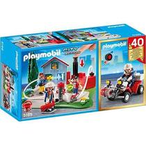 Playmobil - Brigada De Incêndio Aniversário Cod: 5169