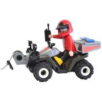 Playmobil Country - Quadriciclo De Resgate - 5429