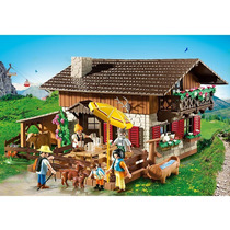 Playmobil Country - Estação De Alpinista - 5422