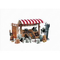 Playmobil 7855 - Barraca De Armas Medievais (add-on) (novo)
