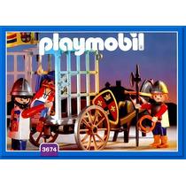 Playmobil 3674 Transporte De Prisioneiros Raro Geobra