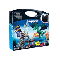 Playmobil 5609 - Cavaleiro Do Dragão Maleta