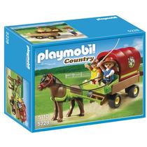 Playmobil 5228 - Carroça Das Crianças Com Pónei (novo)
