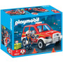 Playmobil 4822 Fire Chief And Car, Novo, Lacrado!