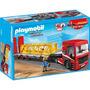 5467 Playmobil Cidade Construção Caminhão De Serviço Pes...