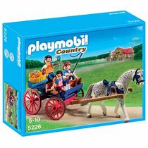 Playmobil - Charrete Puxada Por Cavalo Cod: 5226