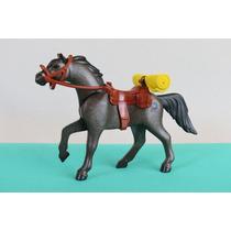 Playmobil Cavalo Preto/marron Nova Geração