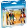 Playmobil 5512 Duo Pack Western Bandido E Xerife - Lacrado