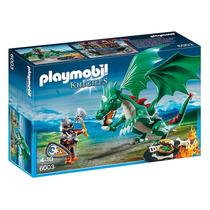 6003 Playmobil Cavaleiros Grande Dragão
